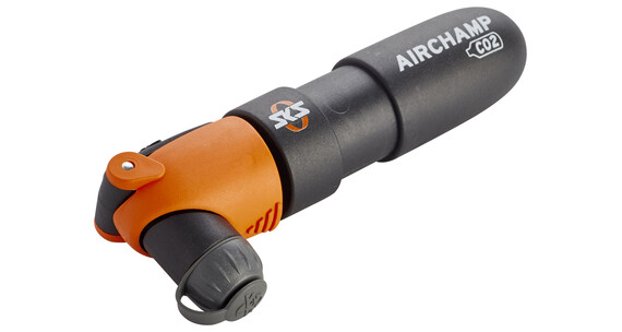 SKS Airchamp CO2 Cykelpump orange/svart